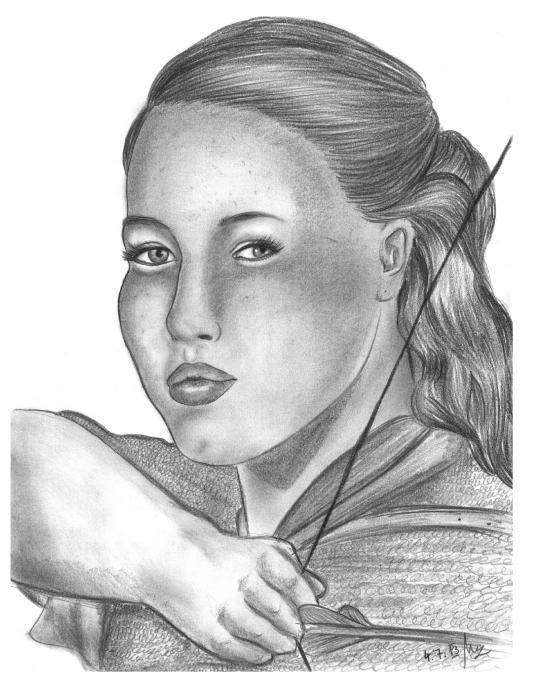 Anna Popplewell by Narnia